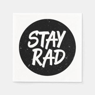 Stay Rad Paper Napkins
