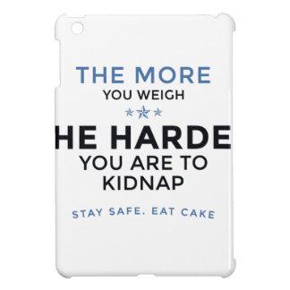 Stay Safe Eat Cake iPad Mini Cover