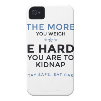Stay Safe Eat Cake iPhone 4 Case-Mate Cases