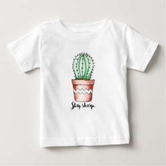 Stay Sharp Cactus Baby T-Shirt