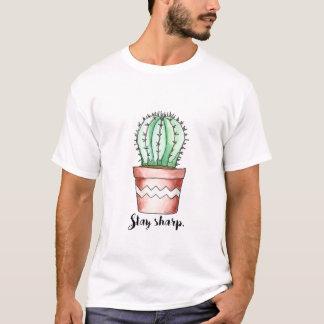 Stay Sharp Cactus T-Shirt