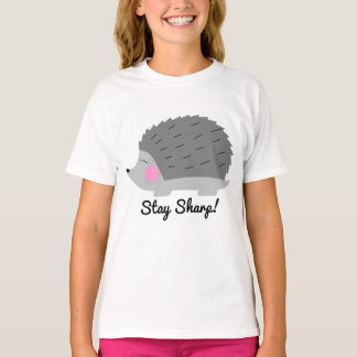 Stay Sharp Hedgehog Girls T-Shirt