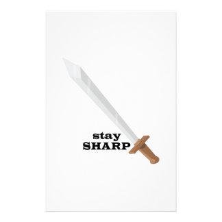 Stay Sharp Stationery