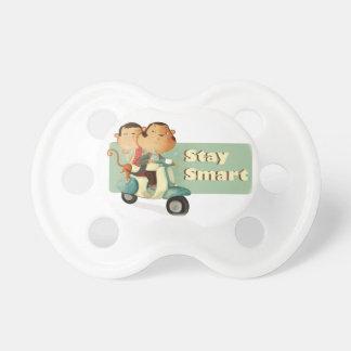 Stay Smart Scooter Monkeys Pacifiers