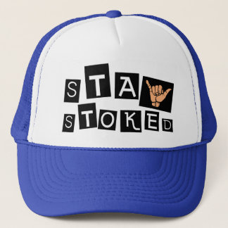 Stay Stoked Trucker Hat