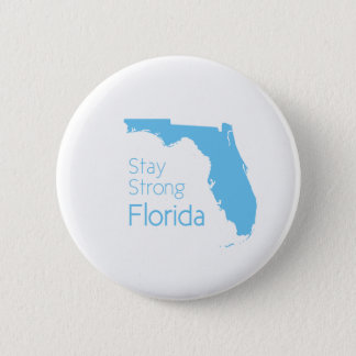 Stay strong Florida after hurricane Irma 2 Inch Round Button