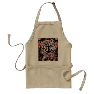 Stay Strong Hold Tight Retro Nautical art. Standard Apron