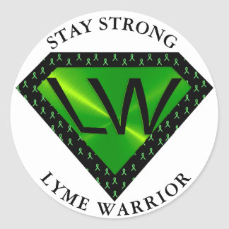 Stay Strong Lyme Warrior Superpower Sticker