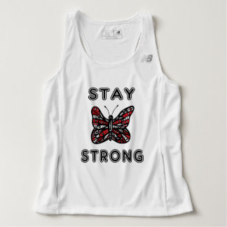 """""""Stay Strong"""" Men's Running Tank Top"""
