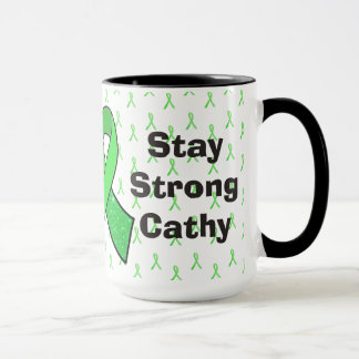 """Stay Strong"" Personalized Lyme Awareness  Mug"