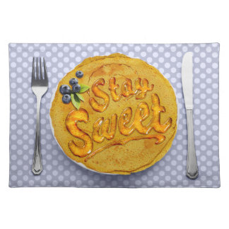 Stay Sweet Placemat: Blueberry Place Mat