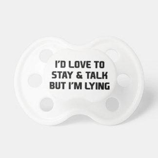 Stay & Talk Pacifier