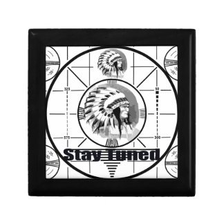 Stay Tuned with Indain Head Test Pattern Gift Box