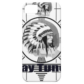 Stay Tuned with Indain Head Test Pattern iPhone 5 Covers