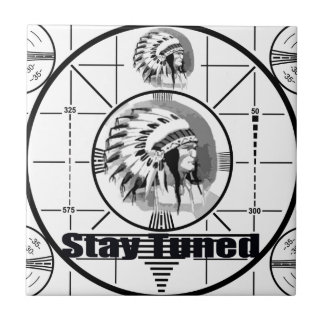Stay Tuned with Indain Head Test Pattern Tiles