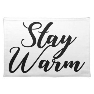 Stay-Warm Placemat