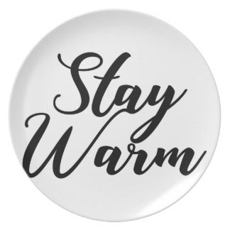 Stay-Warm Plate