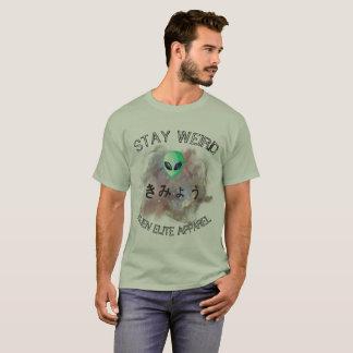 'Stay Weird' Alien Colorful Men's T-Shirt