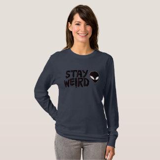 Stay Weird Alien T-Shirt