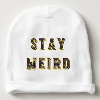 Stay Weird Baby Beanie