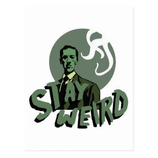 Stay Weird Postcard