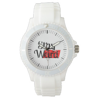 Stay Weird Wristwatch