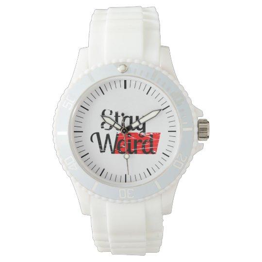 Stay Weird Wristwatch