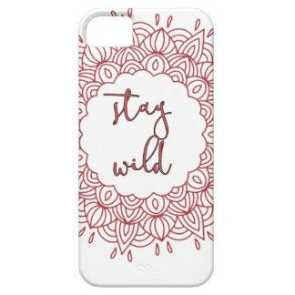Stay Wild Boho Gypsy Design iPhone 5 Case