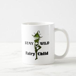 Stay Wild Faerie Child Coffee Mug