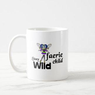 Stay Wild Faerie Child Steampunk Coffee Mug