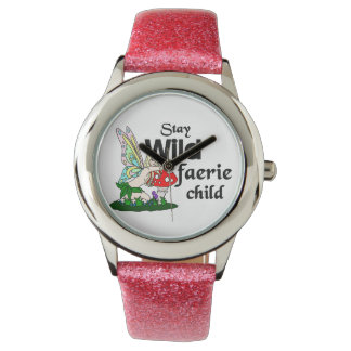 Stay Wild Faerie Child Watch
