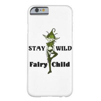 Stay Wild Fairy Child Phone Case