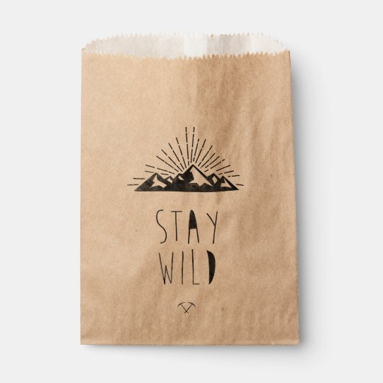 STAY WILD FAVOUR BAG