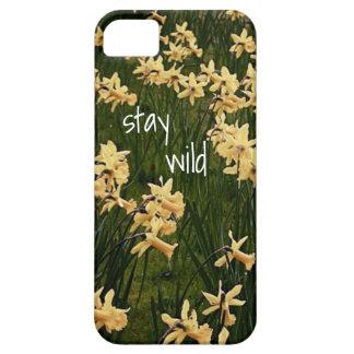 stay wild - flower phone case