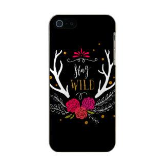 Stay Wild Incipio Feather® Shine iPhone 5 Case