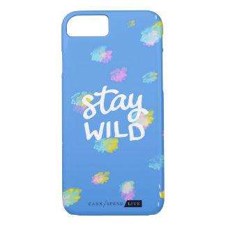 Stay Wild Leopard Phone Case