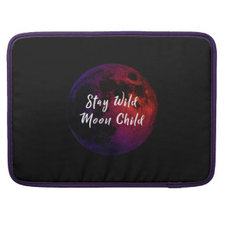 Stay Wild Moon Child Sleeve For MacBooks