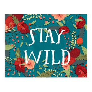 Stay Wild Postcard