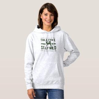 Stay Wild, Women's Hoodie, Ash Hoodie