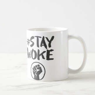 Stay Woke - Black Lives Matter Coffee Mug