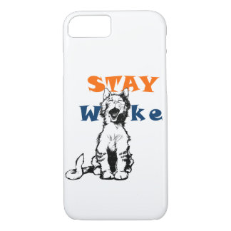 STAY WOKE iPhone case