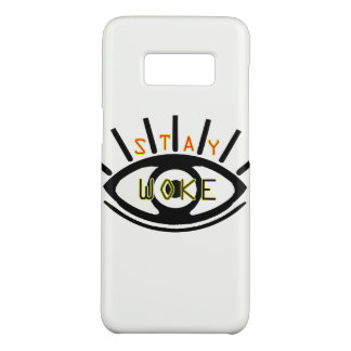 Stay Woke Samsung case Basic eye graphic