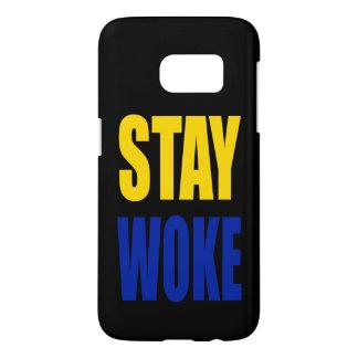 Stay Woke Samsung Case - Black
