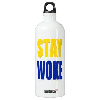 Stay Woke Sigg Water Bottle - White