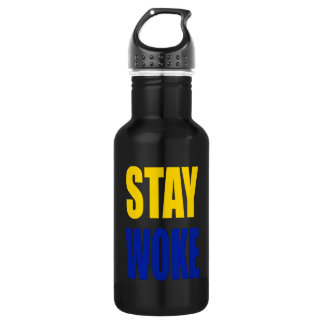 Stay Woke Water Bottle
