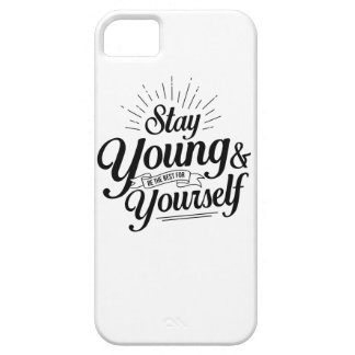 stay young SS iPhone 5 Covers