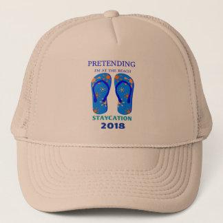 STAYcation 2018...Wear Your Flip-Flops! Trucker Hat