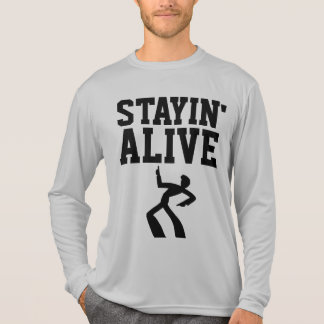 STAYIN' ALIVE, VINTAGE RETRO T-shirts