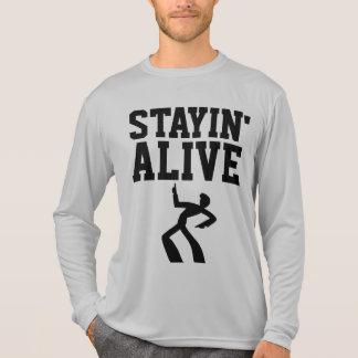 STAYIN' ALIVE, VINTAGE RETRO T-shirts