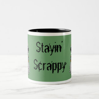 Stayin' Scrappy coffee mug